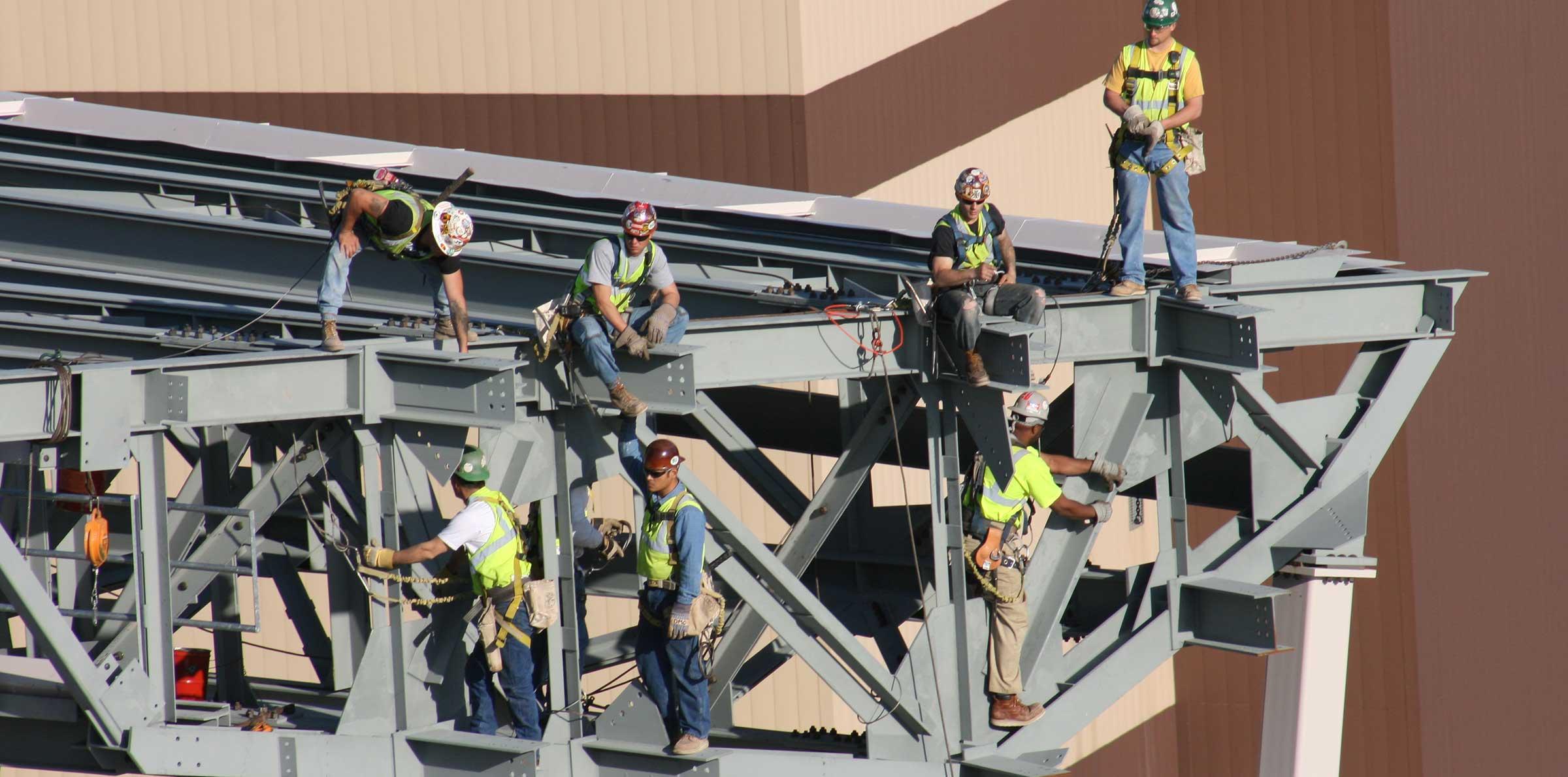 Danny's Construction Company Leadership | Steel Erection